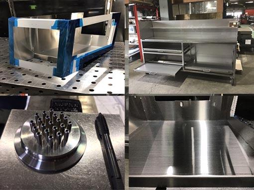 アングル鋼・型鋼などの製缶板金も社内対応をいたします!