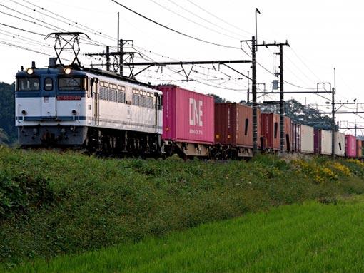 輸送方法 列車