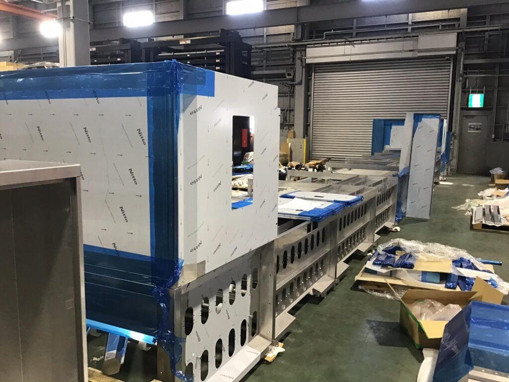 冷凍装置大型フレーム